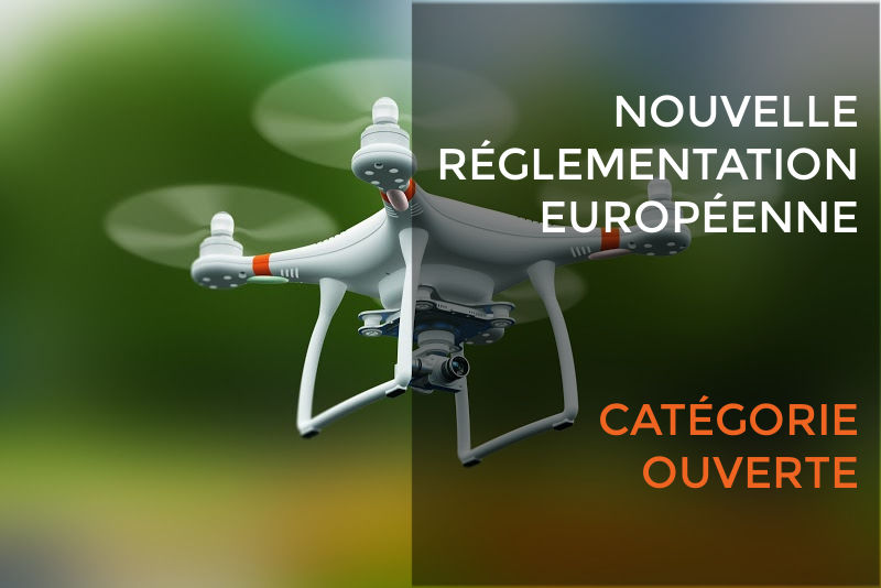 catégorie ouverte missions drone