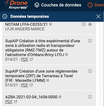 Lisez les SupAIP avec DroneKeeper