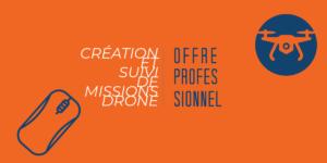 Création et suivi de missions drone professionnel