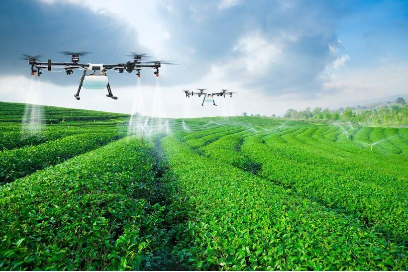 drone agricole préparation de mission