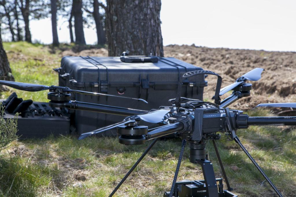 Tundra drone modulaire